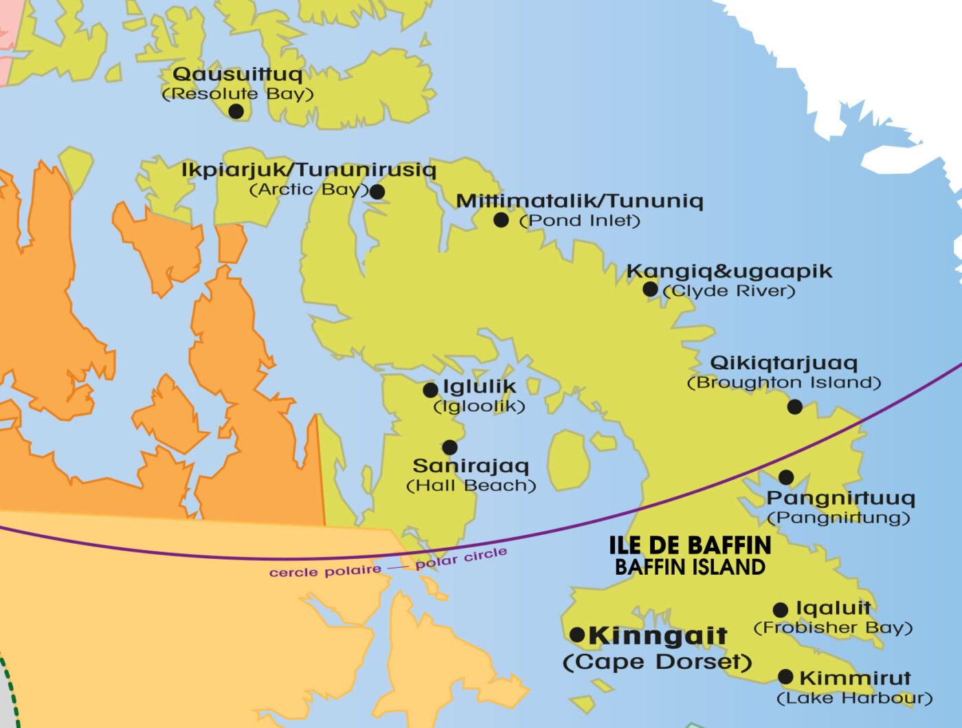 sculptures inuit-Île de baffin