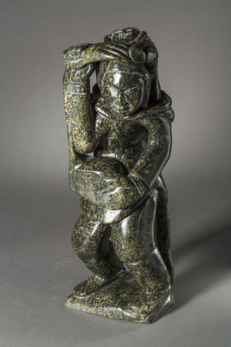 Kiawak Ashoona (1933-2014) Mère à l'enfant