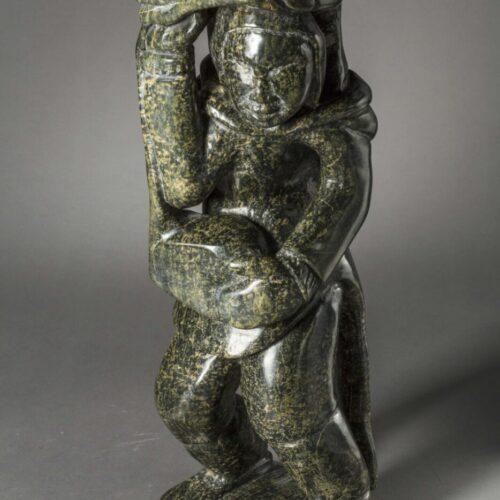Kiawak Ashoona (1933-2014) Mother and Child
