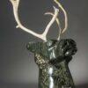 Aqjangajuk Shaa-Tête de caribou