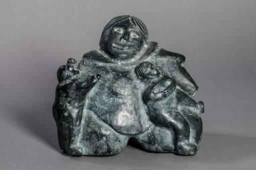 Martha Tickie-Mother and Children