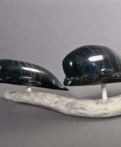 Isaac Oqutaq-Whales