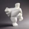 Dancing Bear in Marble