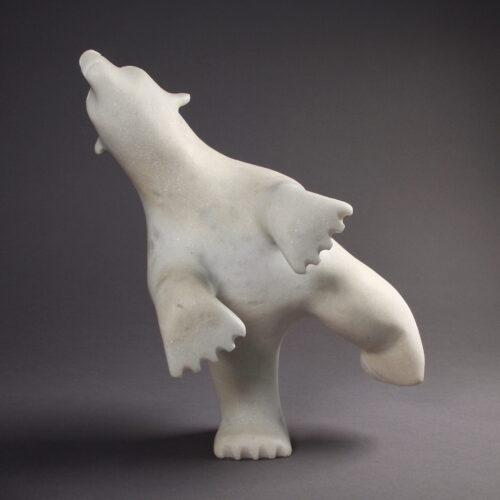 Ours dansant par Adamie Qaumagiak