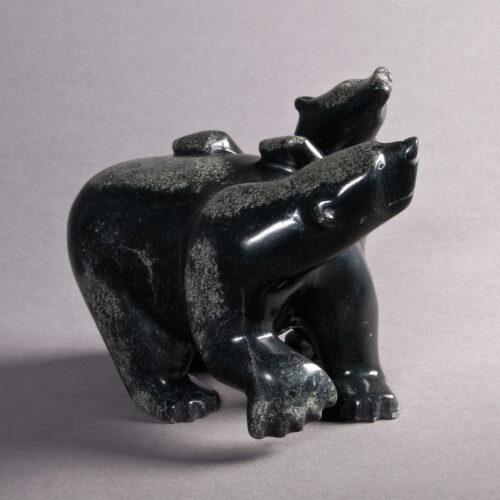 Bear with Cub Pauloosie Tunnillie