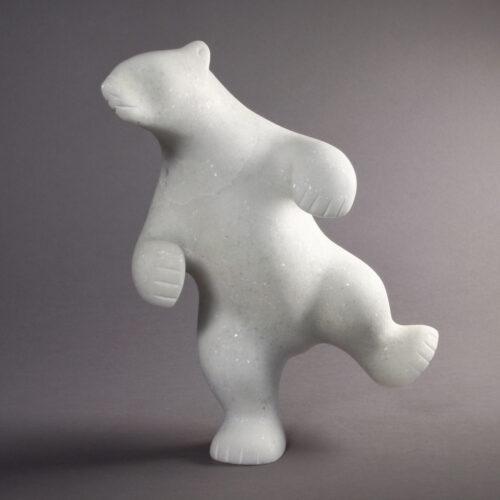 Ours blanc par Taqialuk Nuna